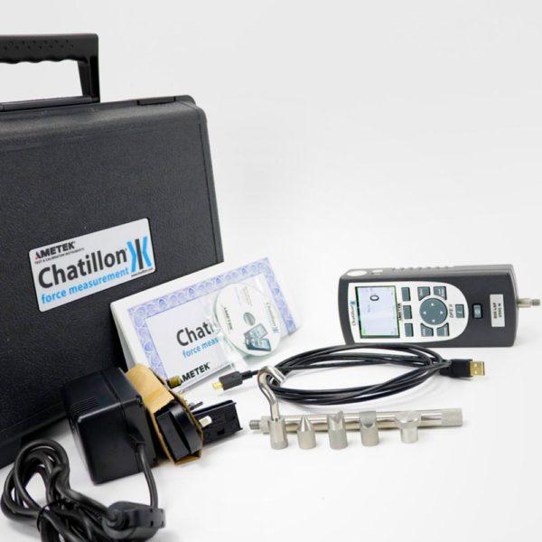 Serie DFE 2 dinamometro digitale modellostandard kit in dotazione